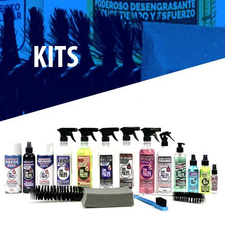 Productos y accesorios, armados para distintas necesidades